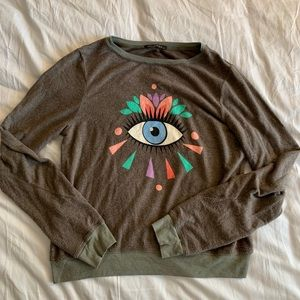 Wildfox Evil Eye Sweatshirt